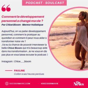 Couverture podcast Chloé Bloom